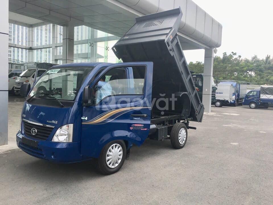 Xe tải Tata 1t2 Cần Thơ, xe tải tata thùng lững, xe tata ben 990kg