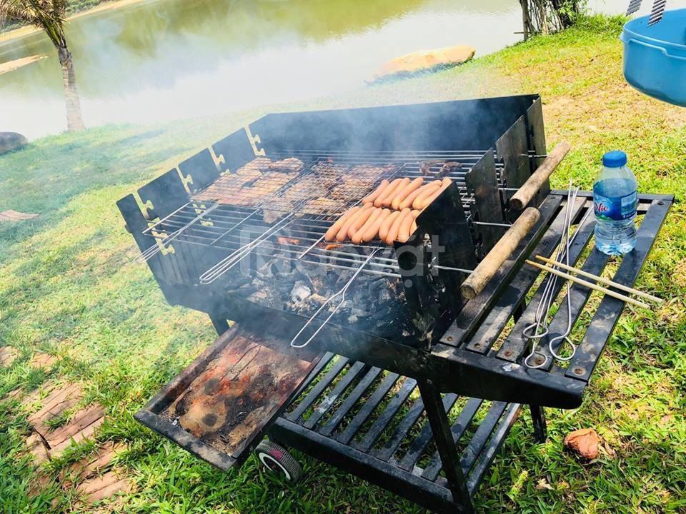 Xả hàng bếp nướng ngoài trời CK350, bếp nướng nhà hàng ck350