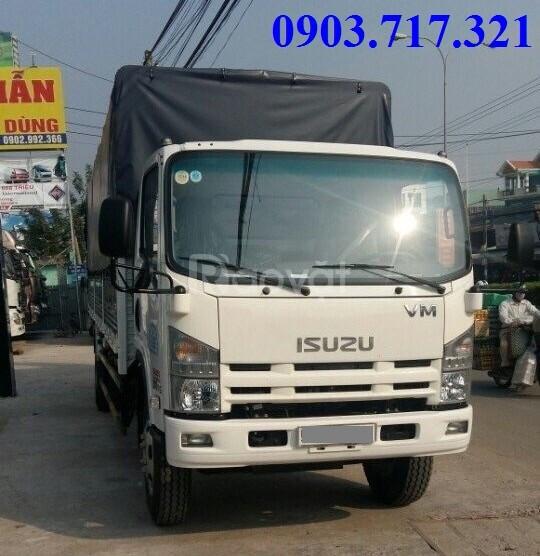Xe tải Isuzu VM 8T2 FN129 thùng dài 7m mới 2019