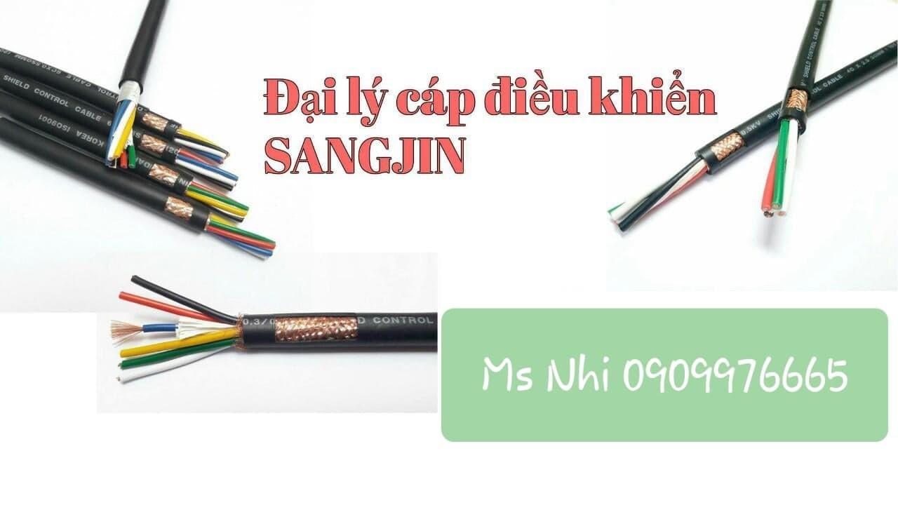 Dây cáp điện điều khiển SangJin 6x0.75mm2 (ảnh 1)