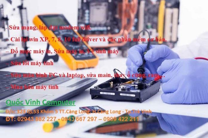 Dịch vụ sửa chữa và cài đặt phần mềm uy tín tại Trà Vinh