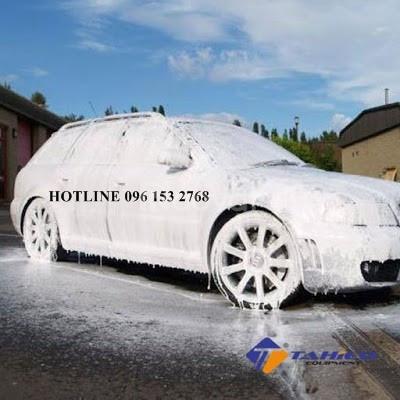 Dung dịch rửa xe bọt tuyết Pallas 6 lít