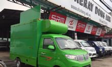 Xe tải DongBen bán hàng lưu động, thùng cách dơi