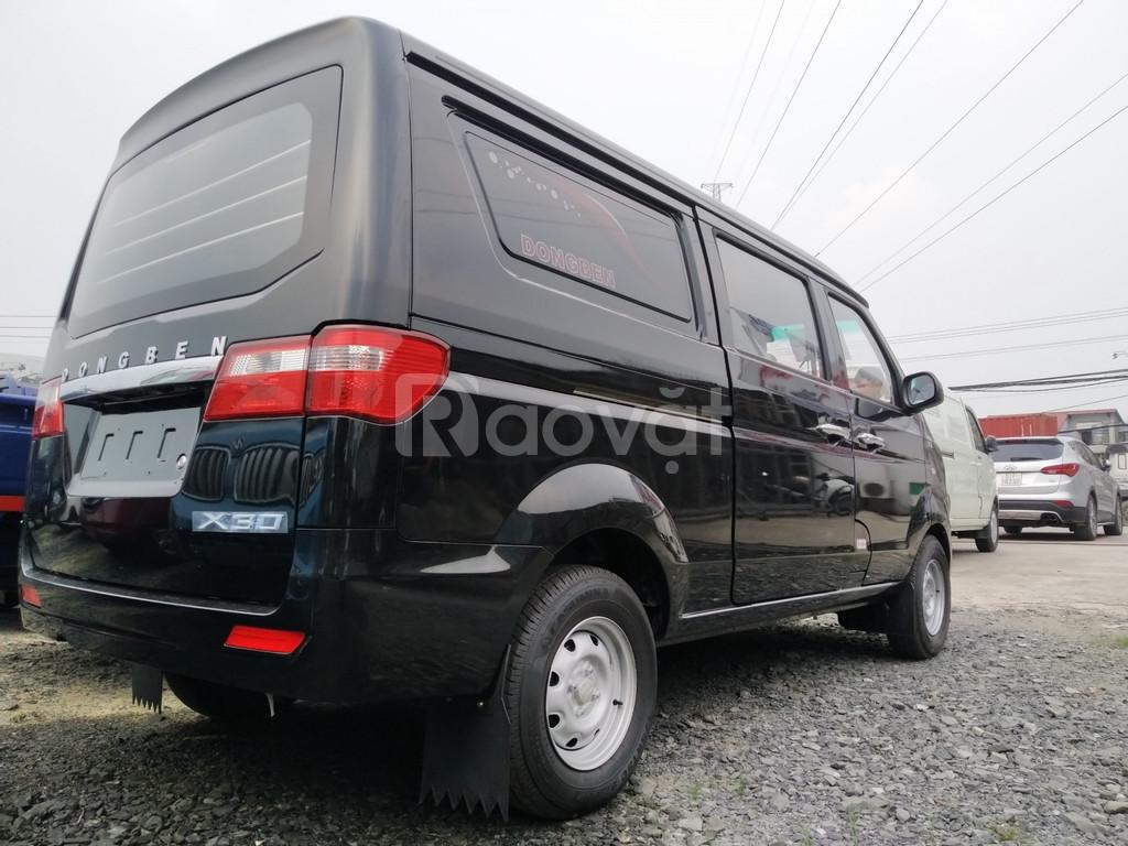 Xe tải van 5 chỗ dongben X30 ,giá tốt +  nhiều ưu đãi