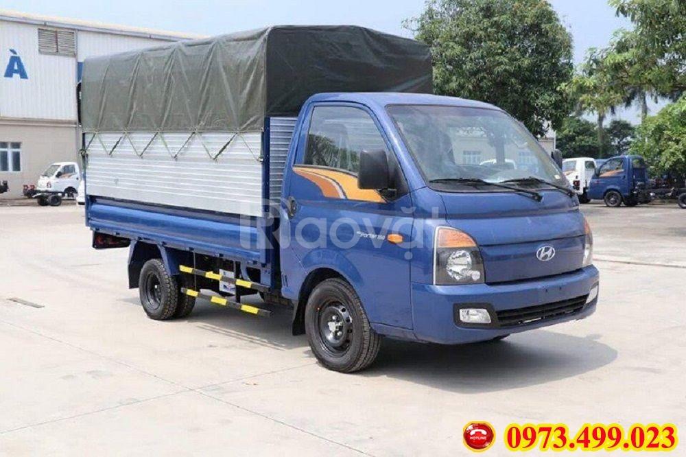 Xe tải Hyundai Porter H150 thùng bạt