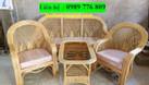 Bàn ghế sofa mây cho phòng khách  (ảnh 5)