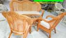 Bàn ghế sofa mây cho phòng khách  (ảnh 1)