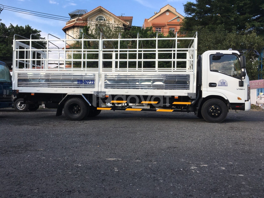 Xe tải 3T5 động cơ Isuzu thùng dài 6m2 l Xe tải Veam VT340s l