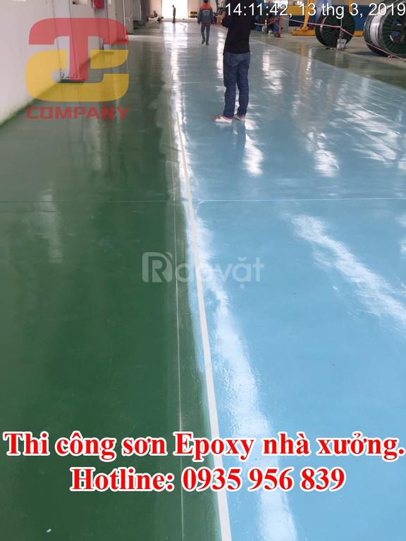 Thi công sơn epoxy ở Quảng Nam