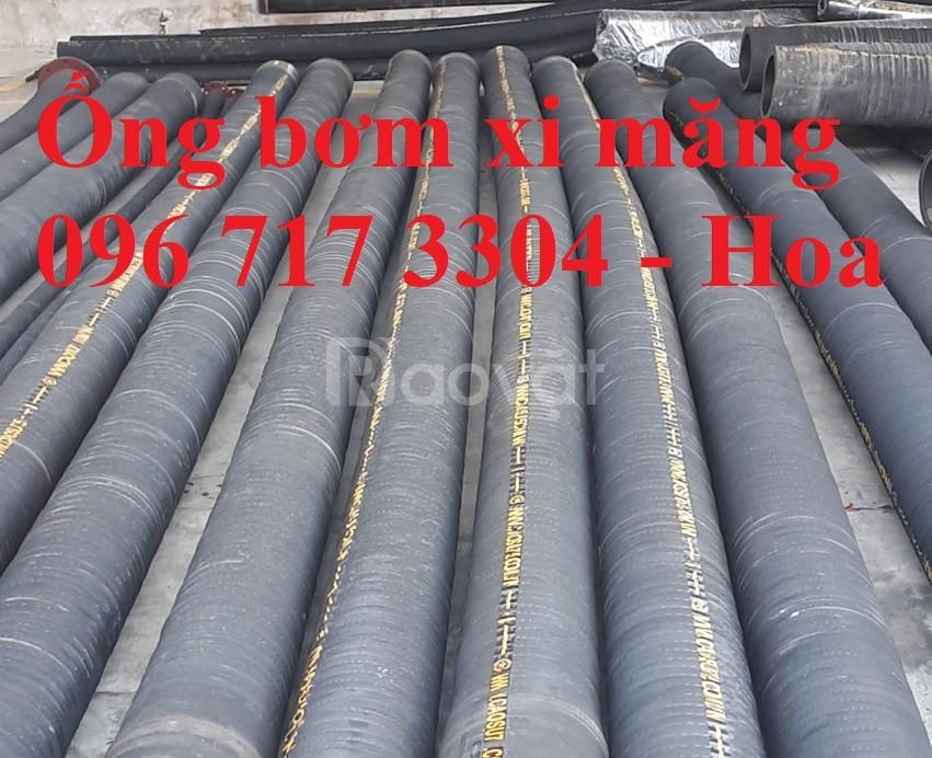 Ống cao su lõi thép bơm xi măng chịu mài mòn D100, D114, D125 giá rẻ