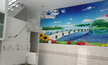 Nhà 1 trệt 1 lầu quận Tân Phú 4x4 1tỷ750