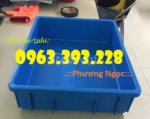 Thùng nhựa đặc B9, hộp nhựa đựng linh kiện