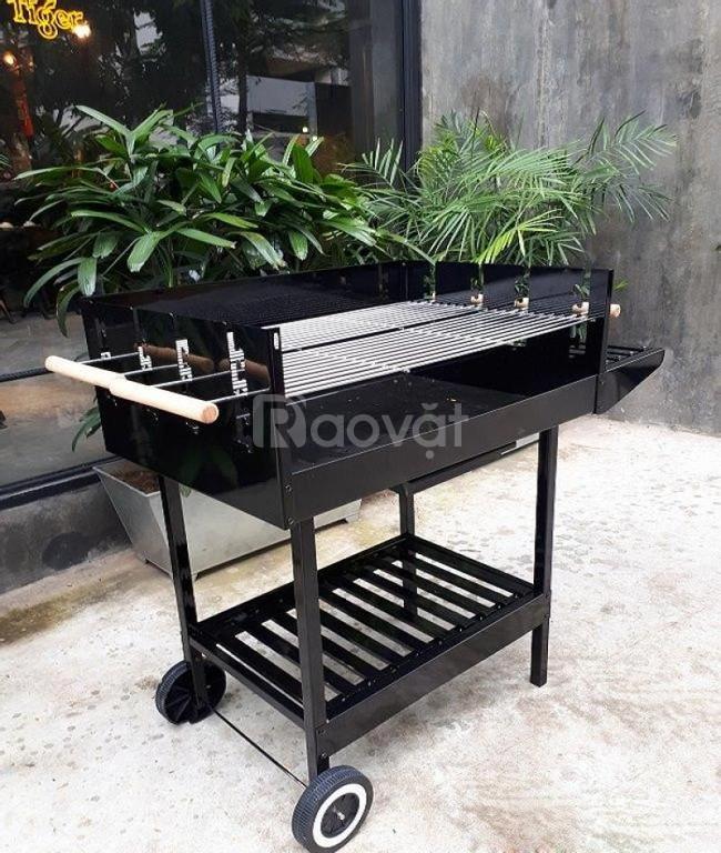 Thanh lý bếp nướng than hoa ck350,bếp nướng ngoài trời tiệc đứng ck350
