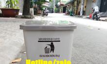 Cung cấp sỉ thùng rác 15l màu xám; thùng rác y tế 15l đạp chân