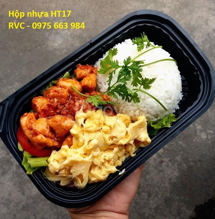 Khay nhựa đựng cơm dùng 1 lần mua ở đâu giá rẻ nhất ? (ảnh 4)
