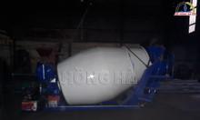 Bồn trộn thủy lực 3 khối chạy động cơ Diesel mới 2019