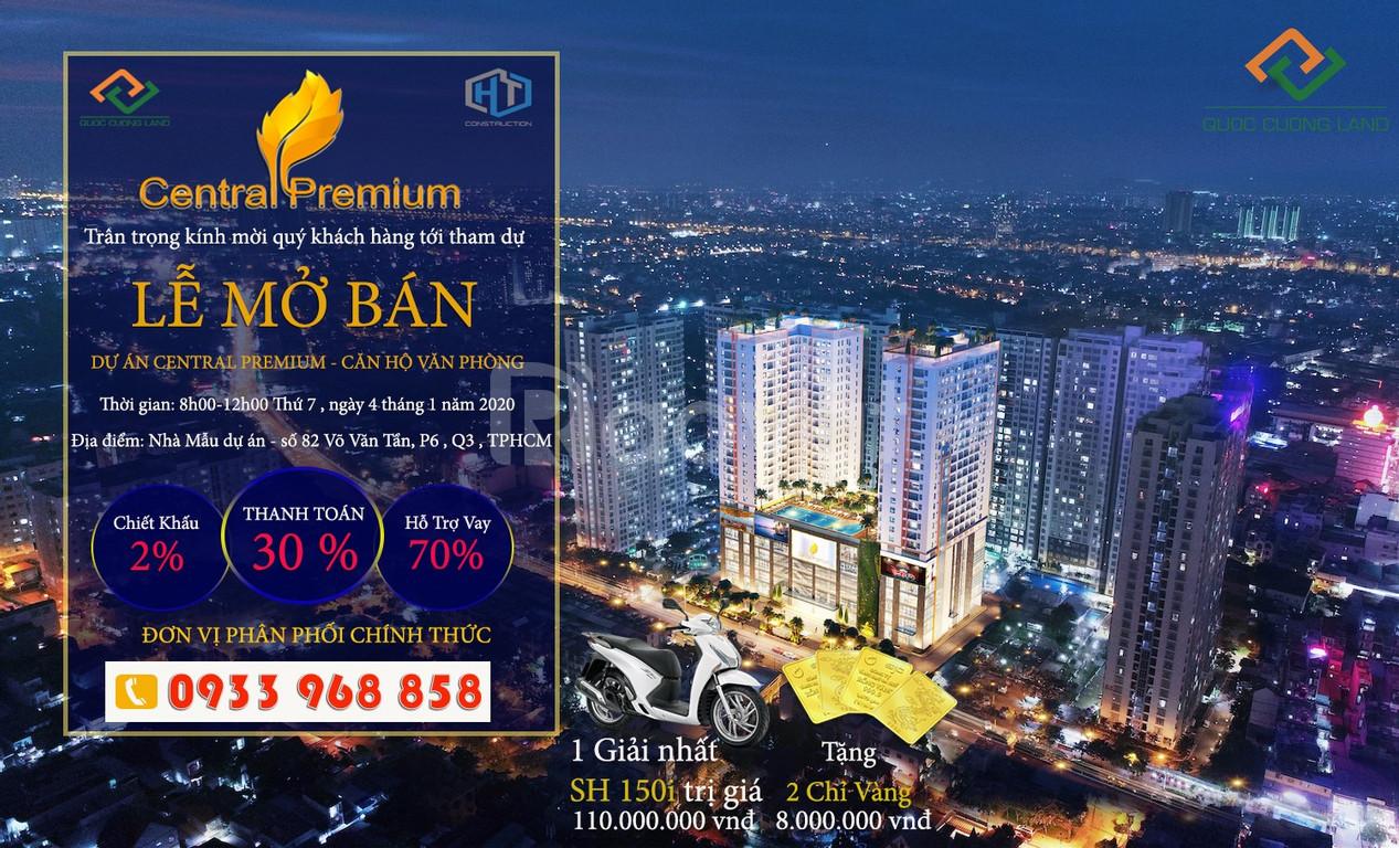 Căn hộ Offictel Quận 8, 1.4 tỷ/ căn- Central Premium 854 Tạ Quang Bửu