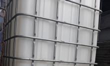 Dụng cụ bồn khung sắt chứa hóa chất 1000l cũ
