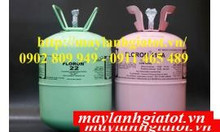 Thành Đạt bán gas lạnh Floron R410A 11,3Kg, gas SSB R404A, gas floron
