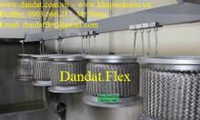 Khớp nối mềm chống rung mặt bích inox, khớp nối chống rung inox 304