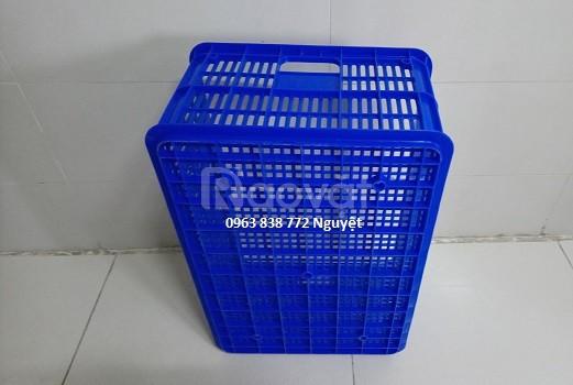 Rổ nhựa - thùng nhựa đựng hàng - khay nhựa