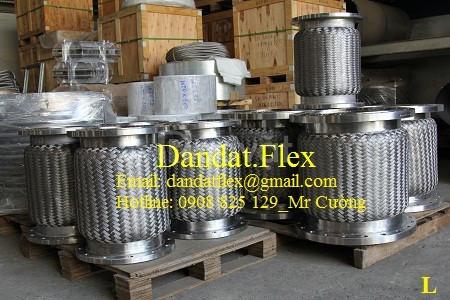 Ống nối mềm chịu nhiệt inox không lưới, Ống mềm inox 304