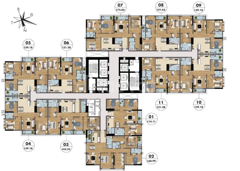 Cần bán căn chung cư 3N nhận nhà ở luôn, khu Cầu Giấy – Mỹ Đình