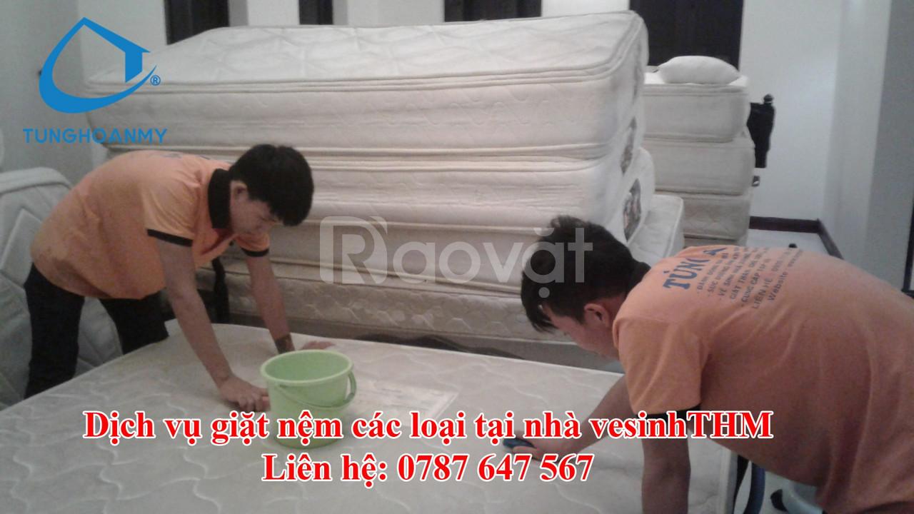 Giặt nệm kymdan tại nhà ở Đà Nẵng