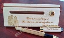 Những lí do chọn hộp bút gỗ quà tặng Tết cho thầy cô
