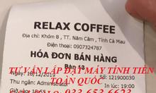 Bán máy tính tiền giá rẻ cho quán Cafe tại Cà Mau