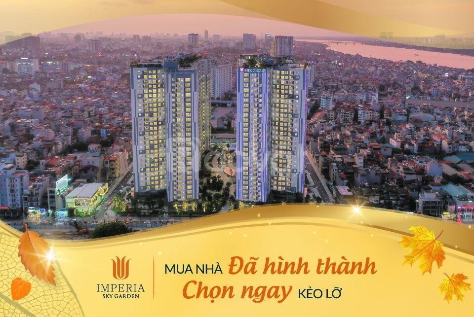 Căn 3PN nhận nhà ở ngay Imperia Sky Garden 423 Minh Khai, CK 5%, LS 0% (ảnh 1)