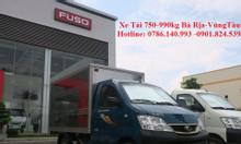 Xe tải 750-990kg, bán xe tải hỗ trợ vay 70% thủ tục nhanh gọn