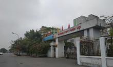 Bán đất 59m2 gần trường Cấp 3 Phúc Lợi -LB-HN, ô tô vào nhà.