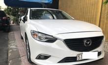 Cần bán Mazda 6 model 2016 màu trắng
