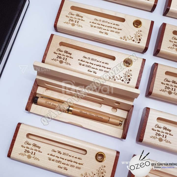 Tại sao nên chọn bút gỗ làm quà tặng thầy cô?