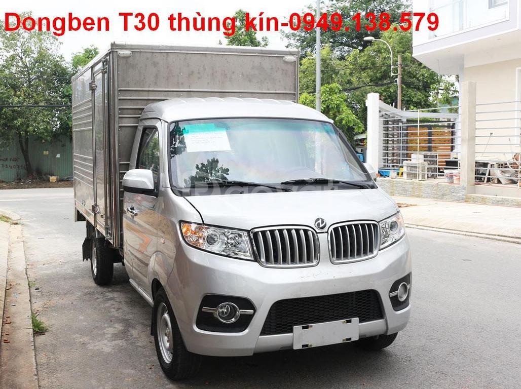 Xe tải Dongben T30 1t2 động cơ 1.5 bảo hành 100.000km