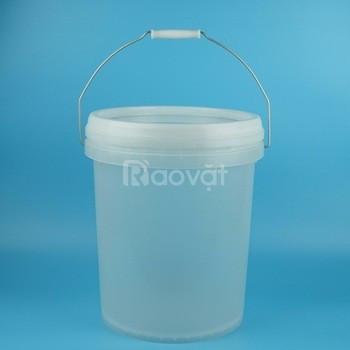 Bán vỏ thùng sơn nhựa 5L, 10L, 18L
