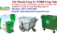 Xả kho cuối năm thùng rác 120 lít 240 lít 660 lít giá rẻ- Thùng rác