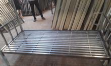 Giường sắt 2 tầng 1m xưởng sản xuất.