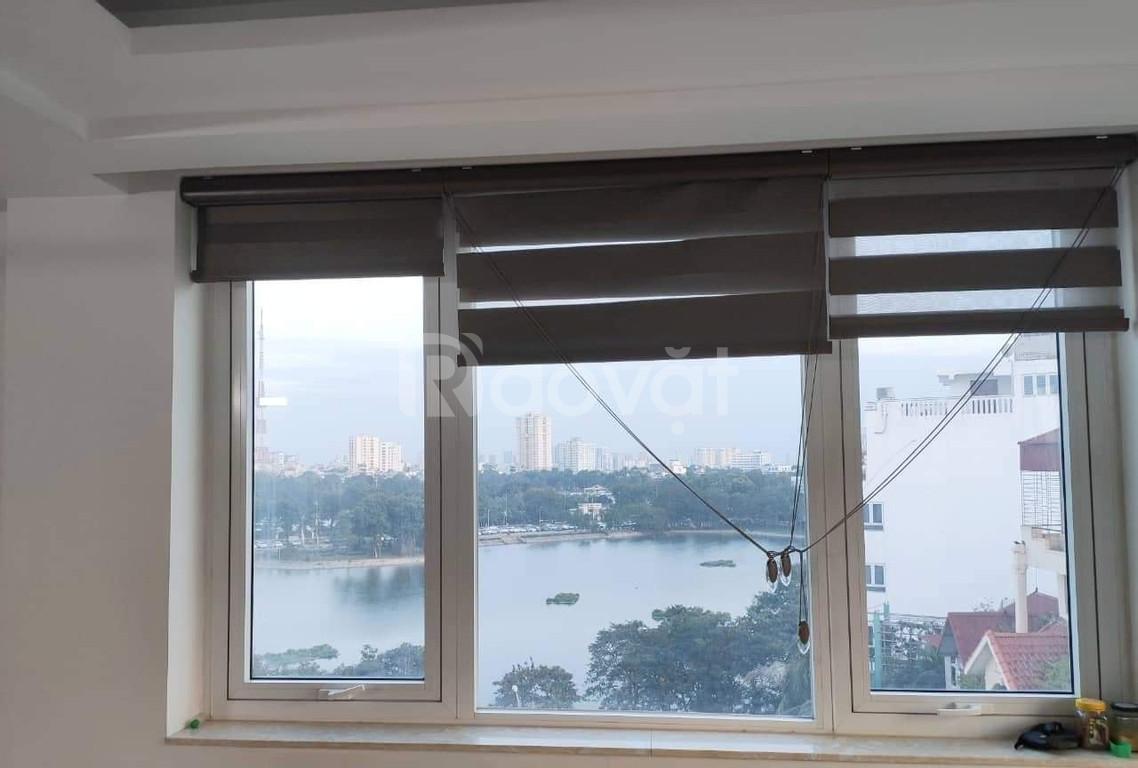 Hồ Ba Mẫu, cạnh hồ, 9 tầng thang máy, ô tô 45 chỗ đỗ cửa, 18 tỷ hơn