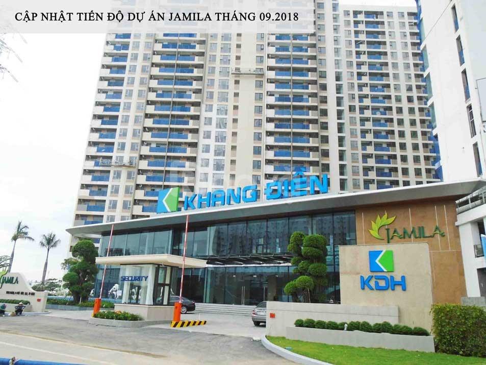 Bán căn hộ Jamila Khang Điền đẹp và mới, vào ở ngay.