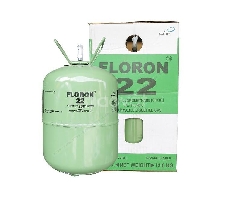 Nơi có bán gas lạnh Floron R22 bình 13.6 kg, gas lạnh Chemours Freon