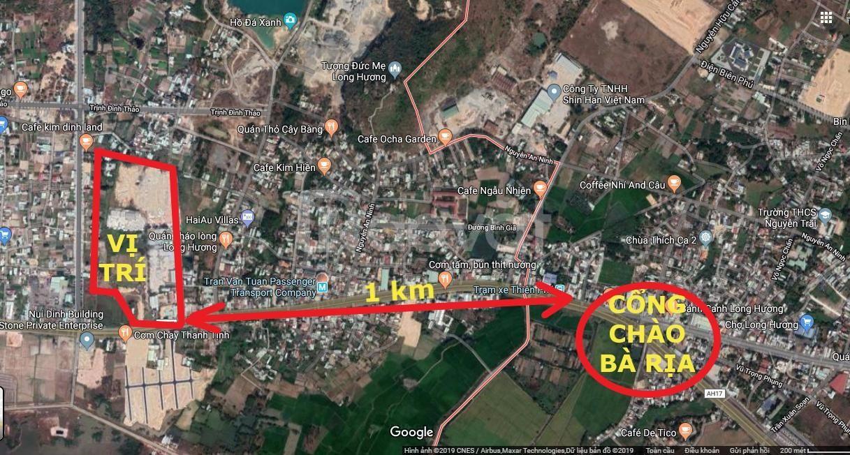 Đất nền dự án KĐT Mới Kim Dinh, QL 51 Bà Rịa Vũng Tàu diện tích 80m2