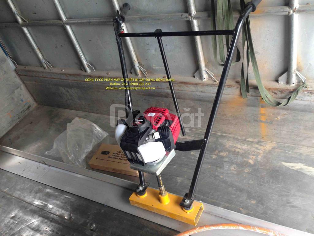Bán máy cán nền bê tông 3m chạy xăng và chạy điện