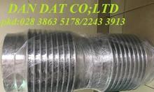 Bô zing chống rung inox/khớp nối mềm lắp ren/khớp giãn nỡ cao su.