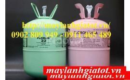 Nơi bán gas Floron: R410A 11,3Kg, R22, R32, R404, SSB410, gas dupont