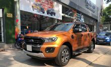 Bán Ranger Wildtrak 2.0L Bi-turbo 2018, màu cam, xe đẹp như mới