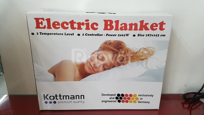 Chăn đệm điện Kottmann, chăn sưởi Đức Kotmann