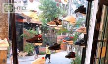 Kệ trưng bày giày hít kính