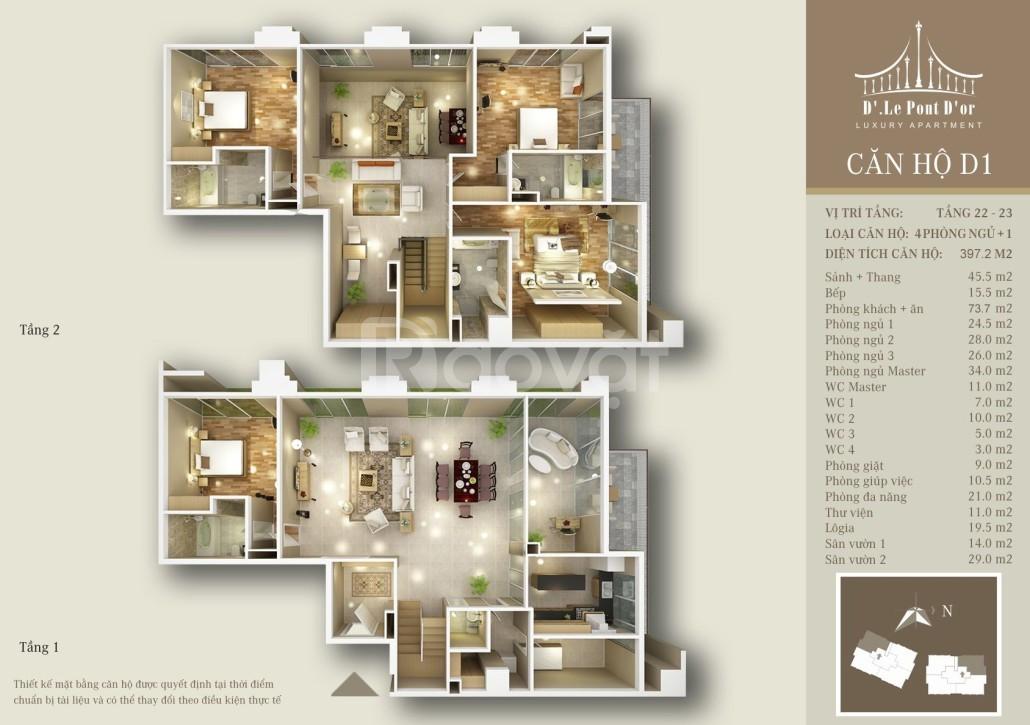 Mở bán 7 căn penthouse Hoàng Cầu tầm nhìn triệu đô, CK 18%